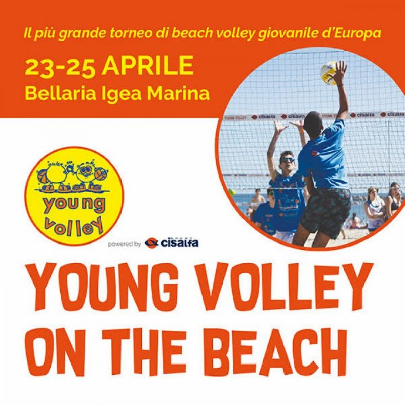 19° YOUNG VOLLEY ON THE BEACH!!